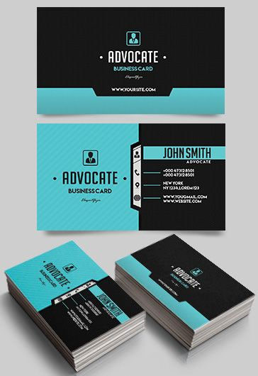 Advocate – Free Business Card Templates PSD