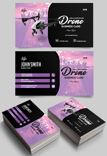 Business card templates psd by elegantflyer aerial photography business card template reheart Images
