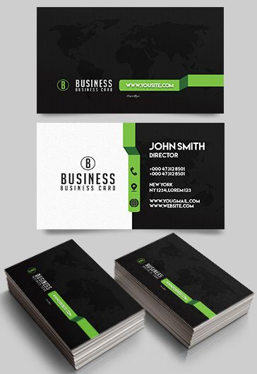 Bicycle Shop – Premium Business Card Templates PSD