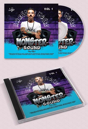 Hip – Hop Trap – Free CD Cover PSD Template