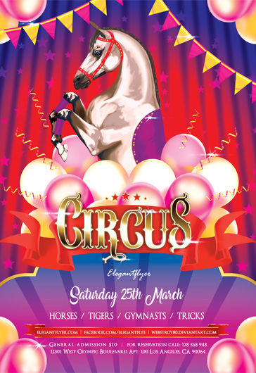 Circus Flyer Invitation