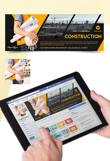 Construction – Premium Facebook Cover