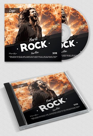 Bass Drop – Free CD Cover PSD Template
