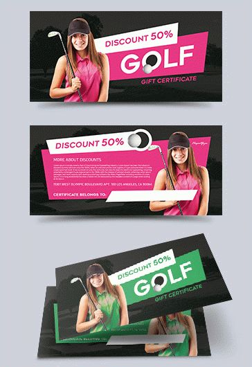 Free Gift Voucher for Golf