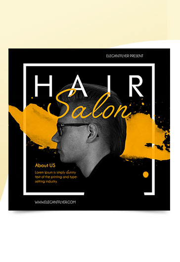 Hair Salon – Premium Instagram Banner