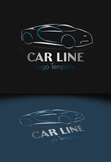 Car Line – Premium Logo Template
