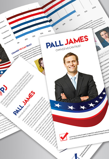 Political Candidate PSD Brochure