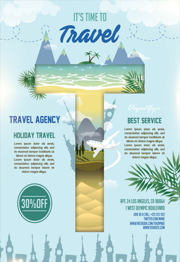 Flyer for Travel