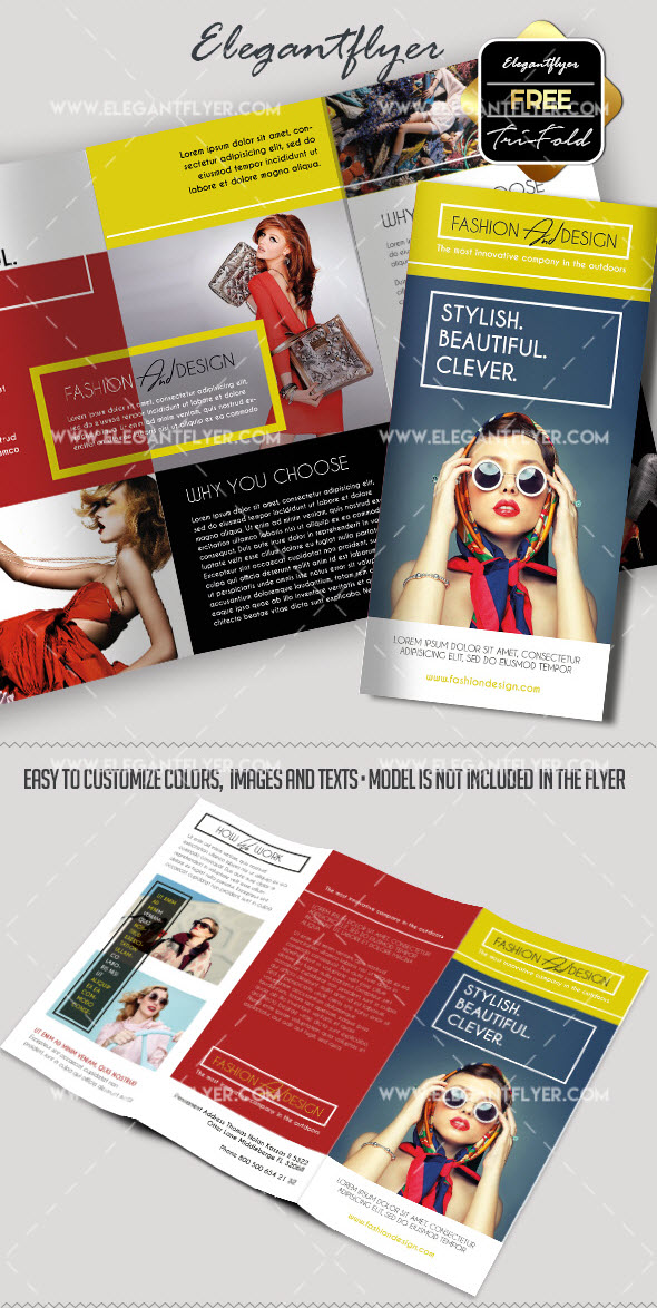 30+ Free Brochure Templates for Food, Health & Beauty and Travel Business