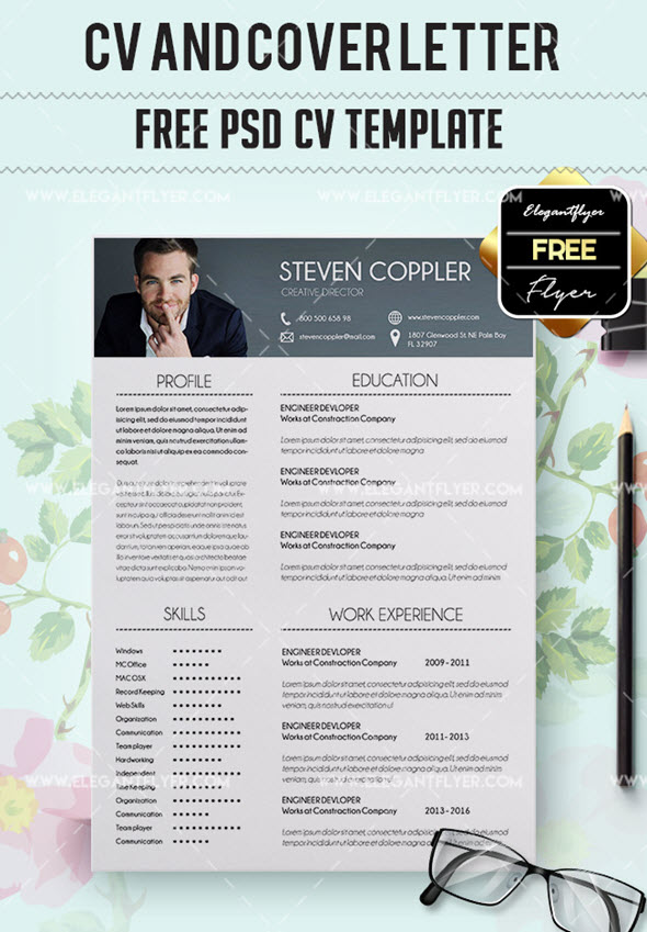 11 free downloadable cv and resume templates by elegantflyer 11 best free downloadable cv and resume templates yelopaper Gallery