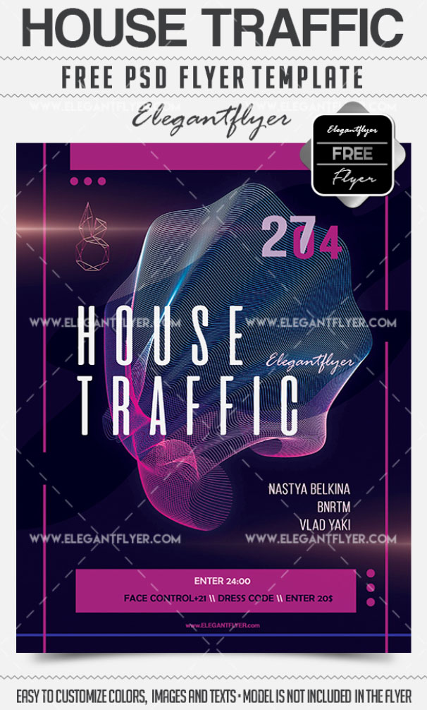 20 Exclusive PSD Flyer Templates for night clubs, restaurants, bars & Special themed events!