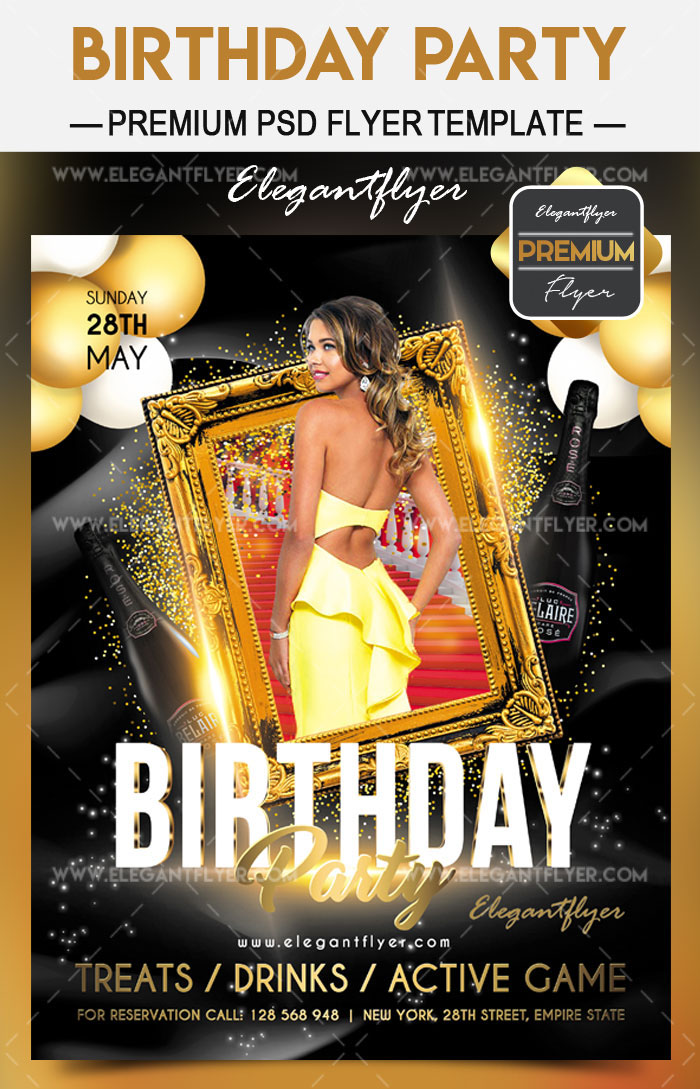 Get Ready for Birthday Party 2018 with Elegantflyer!