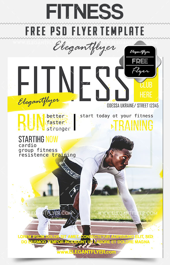 20 The Best Sport Flyer Templates for Professional Event Advertisement!