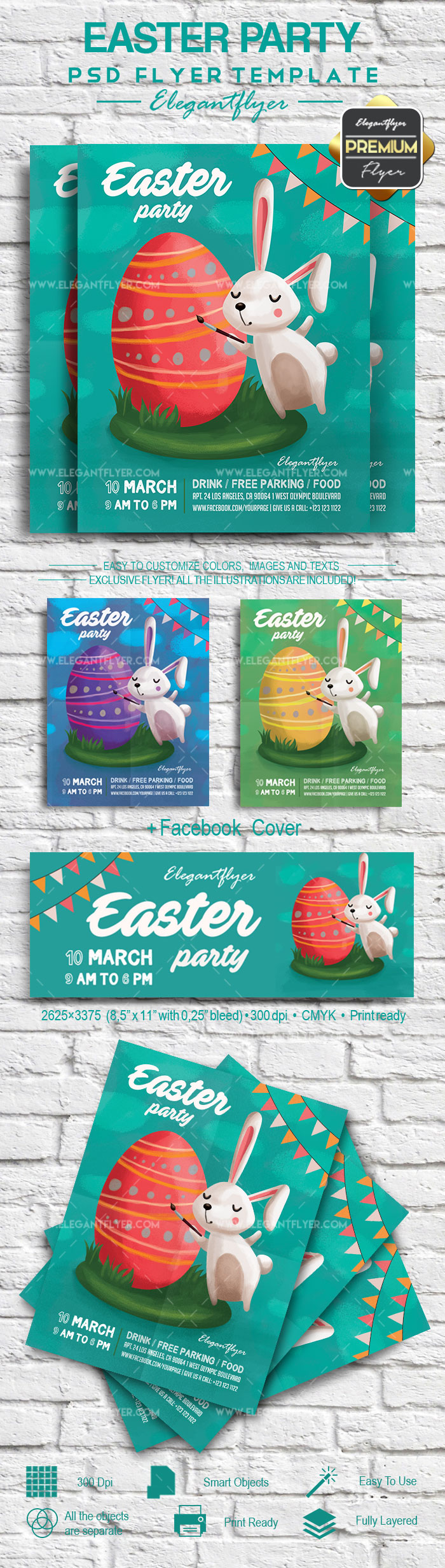 Easter Rabbit Party