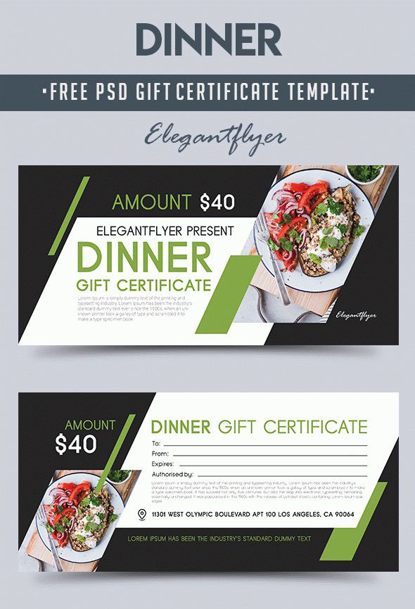 Gift Certificates As A Way To Attract New Customers 20 Exclusive