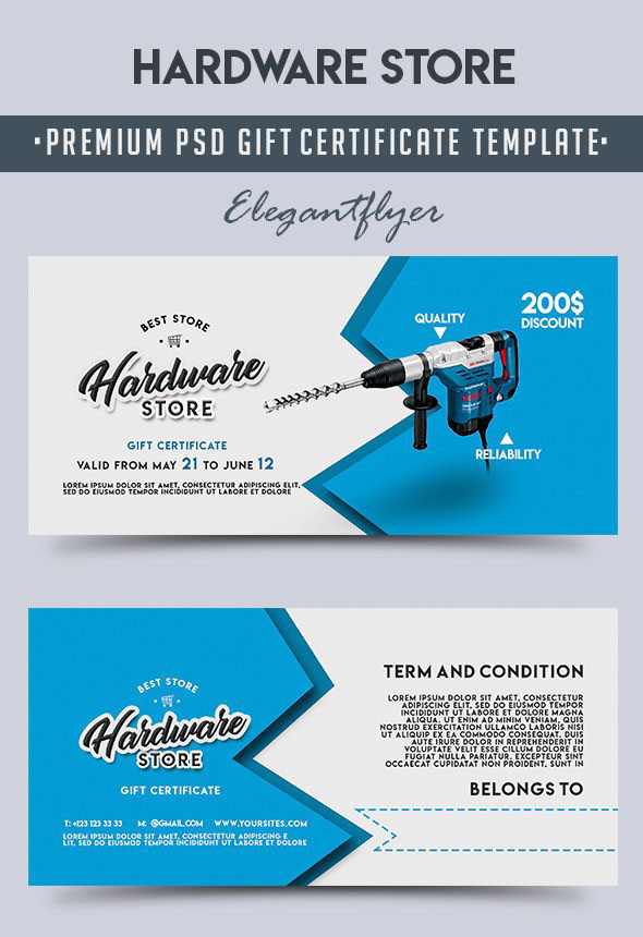 Gift Certificates as a Way to Attract New Customers+ 20 Exclusive PSD Templates!