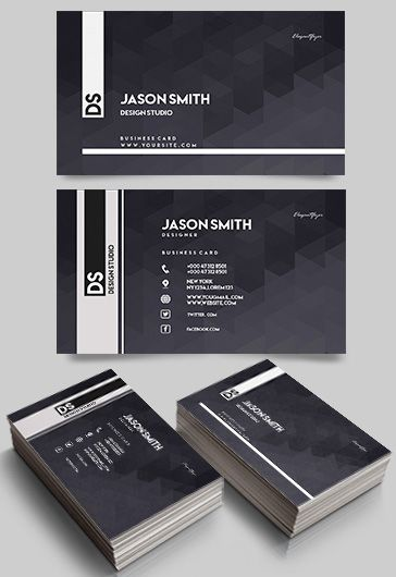 Design Studio – Free Business Card Templates PSD