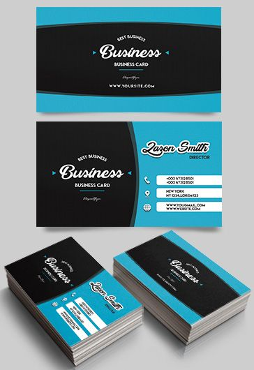 Clothing Store – Business Card Templates PSD