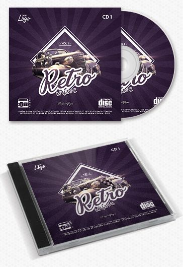 Epic Vocal – Free CD Cover PSD Template