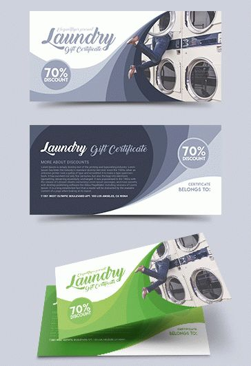 Cleaning Service – Tri-Fold Brochure PSD Template