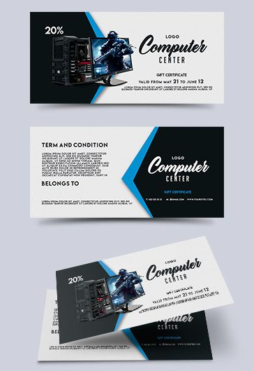 free gift certificate template photoshop