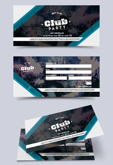 Children Party Free Gift Certificate
