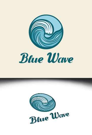 Blue Wave – Premium Logo Template