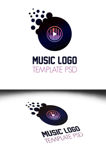 Logo Template for Music