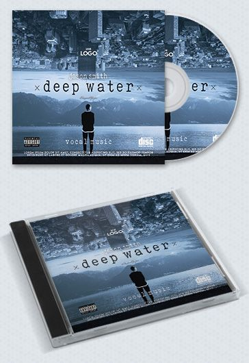 Best Music – Premium CD Cover PSD Template