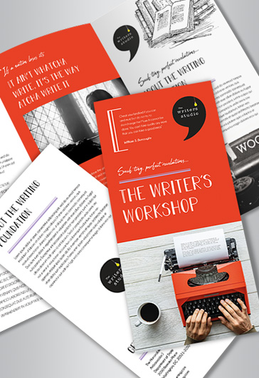 WriterS Workshop Brochure Template  By Elegantflyer