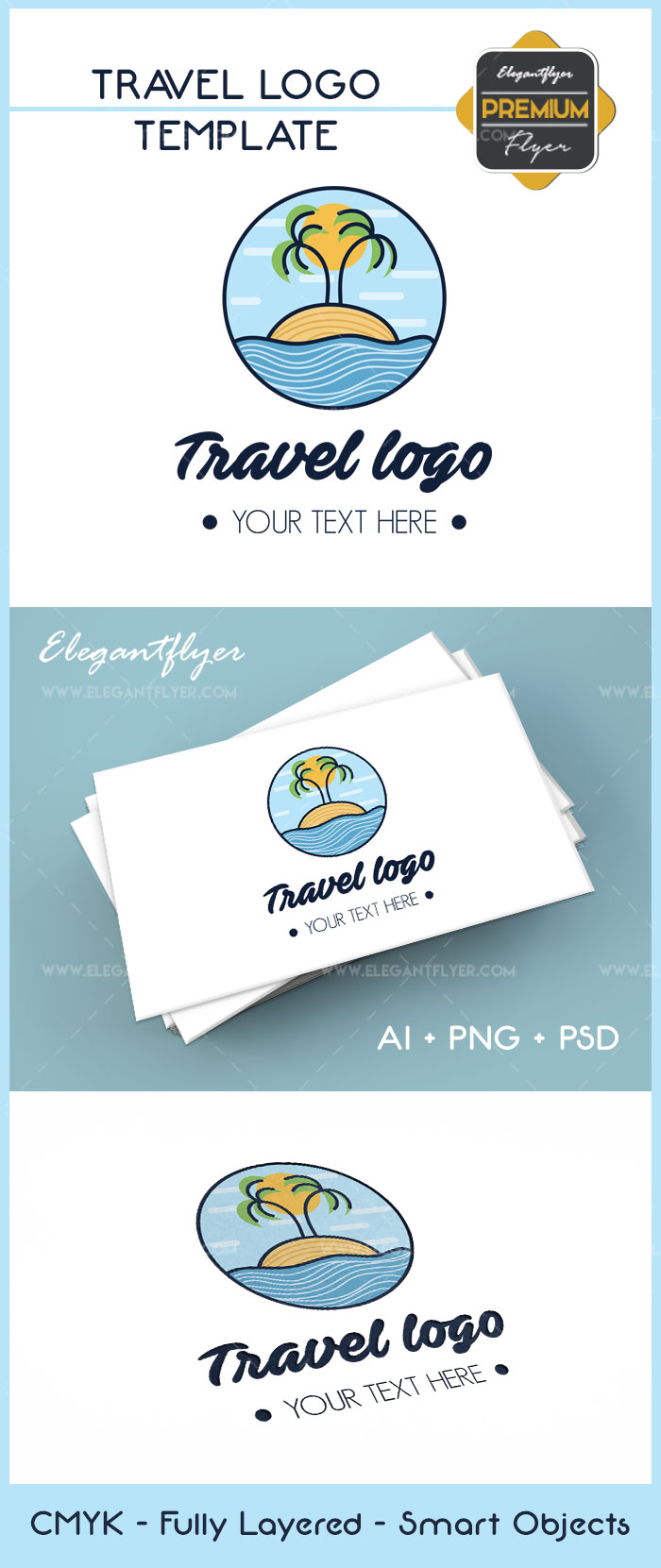 Travel Logo – Premium Logo Template