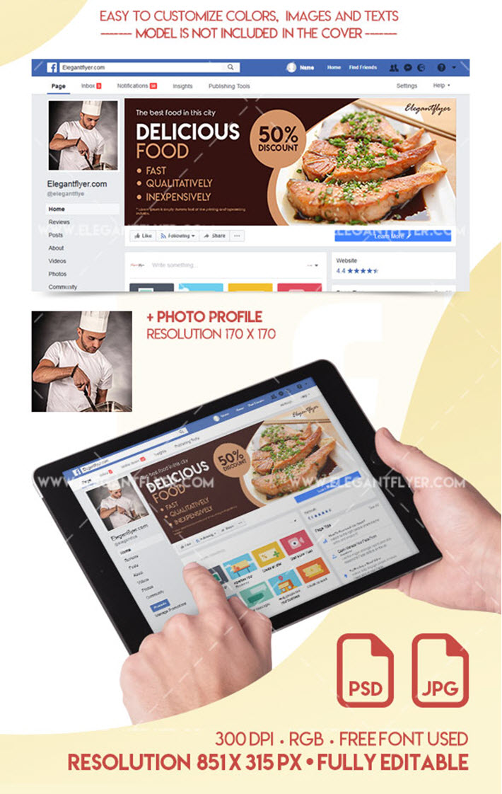 Social Media Graphics: Free PSD Templates for Facebook, Instagram and YouTube