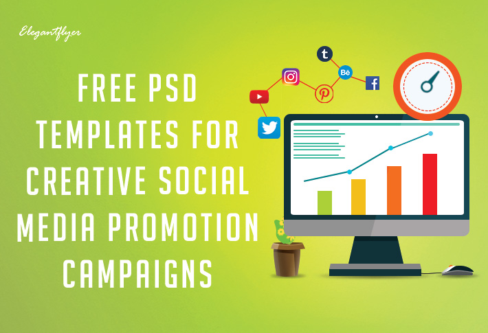 free psd templates for facebook  instagram and youtube
