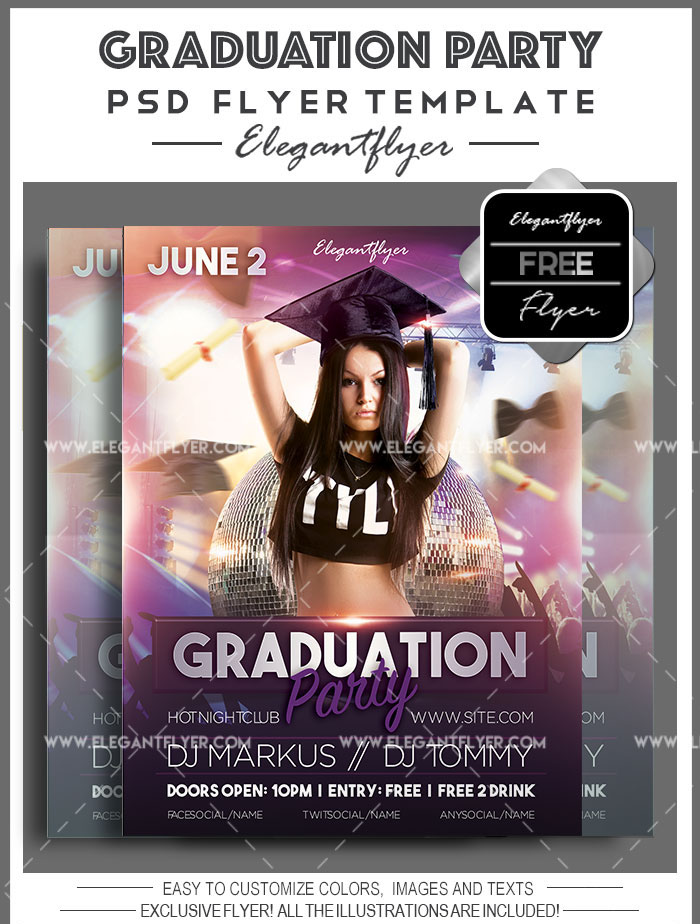 Which Party to Organize for Graduation? + Professional Themed Templates!