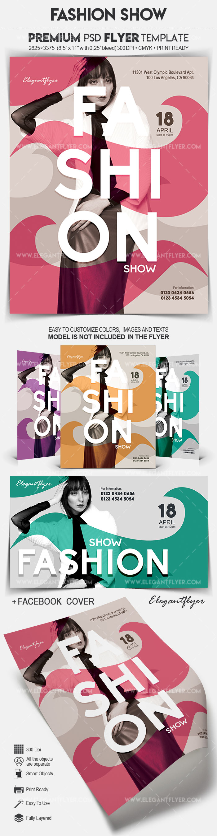Fashion Show – Flyer PSD Template