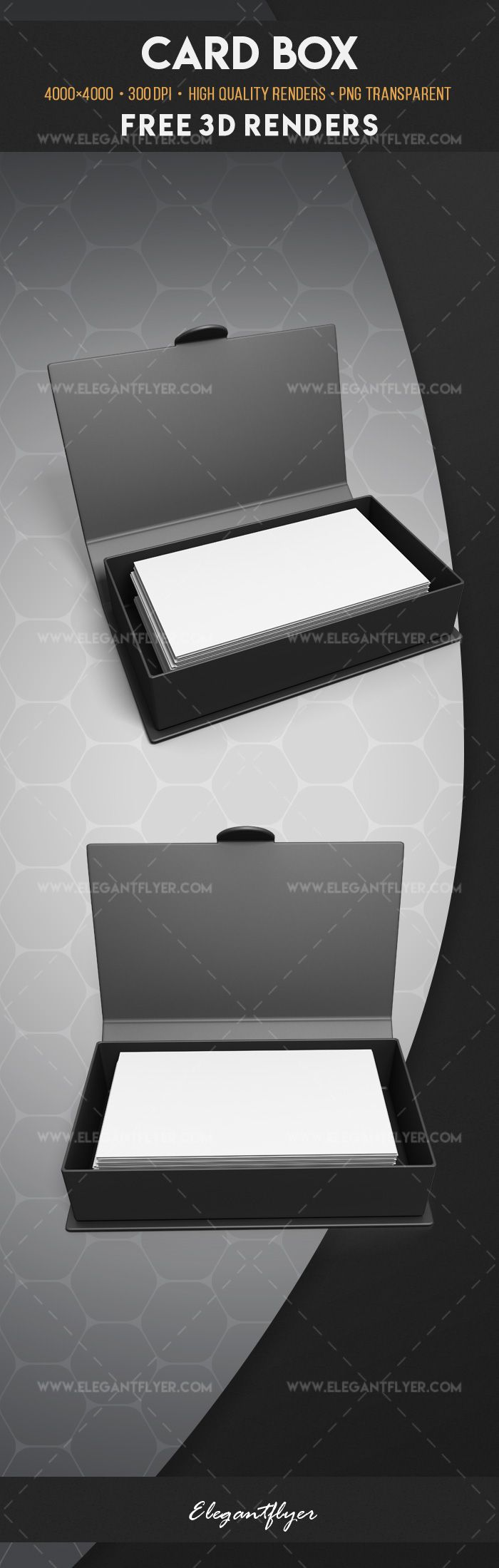 Card box – Free 3d Render Templates