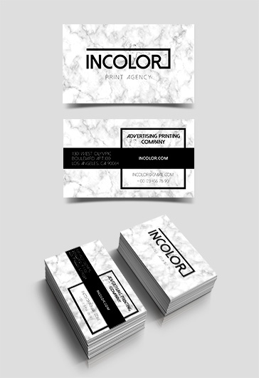 Print Agency – Free Business Card Templates PSD