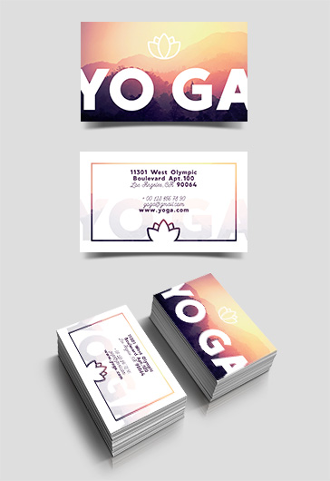 Free Business Cards Templates For Photoshop By ElegantFlyer - Free business cards templates photoshop