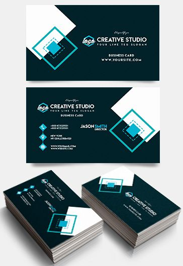 Creative Studio – Business Card Templates PSD