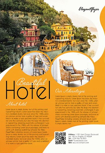 Hotel – Flyer PSD Template