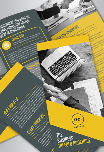 Free Brochure Templates in PSD | by ElegantFlyer