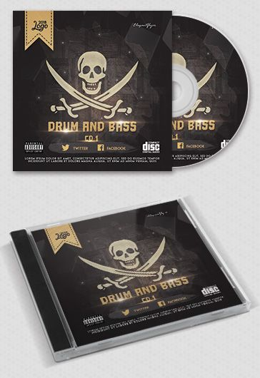 Free Cd  Dvd Cover Templates In Psd  By Elegantflyer