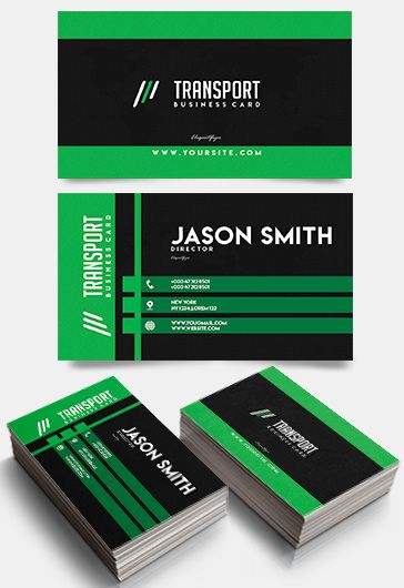 Transport – Free Business Card Templates PSD