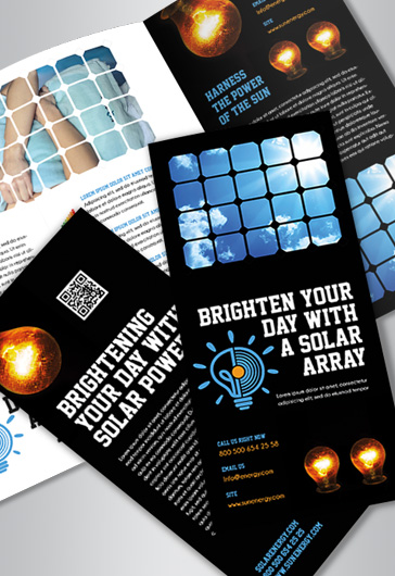 Free Brochure Templates In PSD By ElegantFlyer - Brochure photoshop template