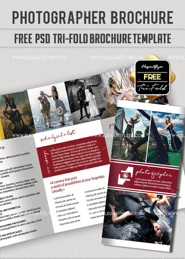 10 Free & Exclusive Photography Brochure Templates in PSD