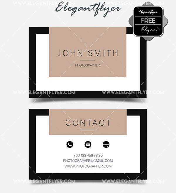 10 print ready minimalist free business card psd templates by 10 print ready minimalist business card psd templates for free download wajeb Images