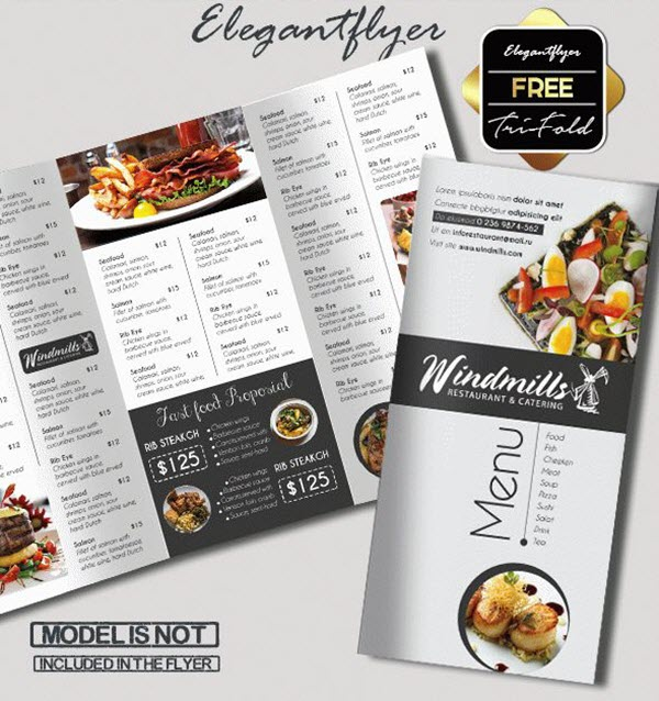 15 Free Exclusive Menu Psd Templates For Cafes And