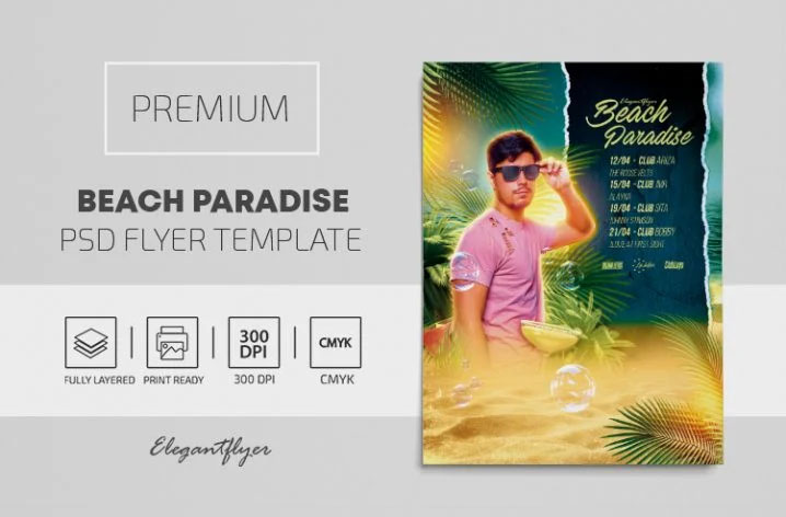 22+ Free Hot Beach and Pool Party Invitation PSD Templates & Premium Version!