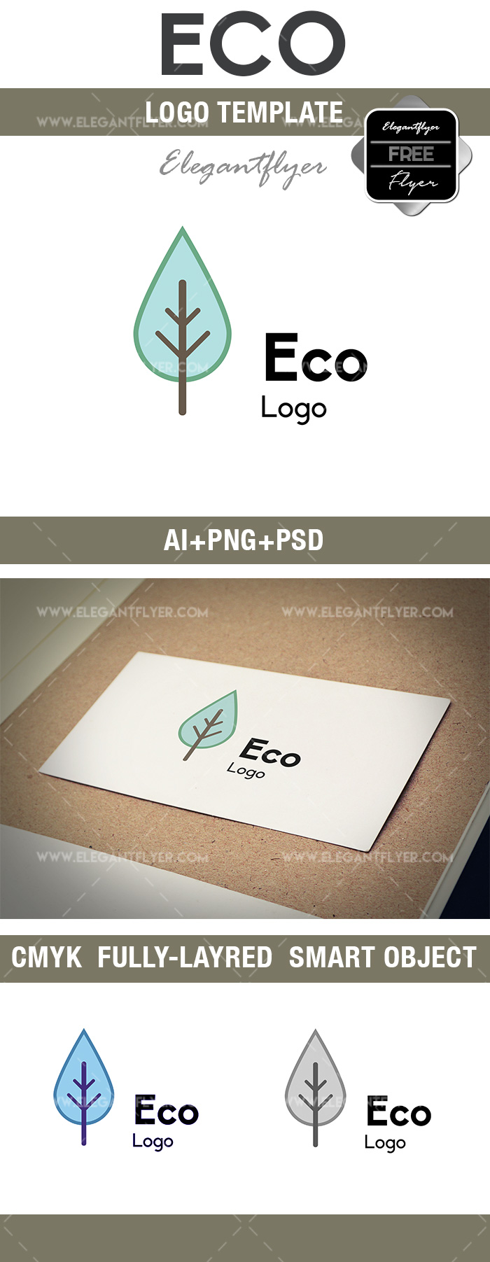 Eco – Free Logo Template
