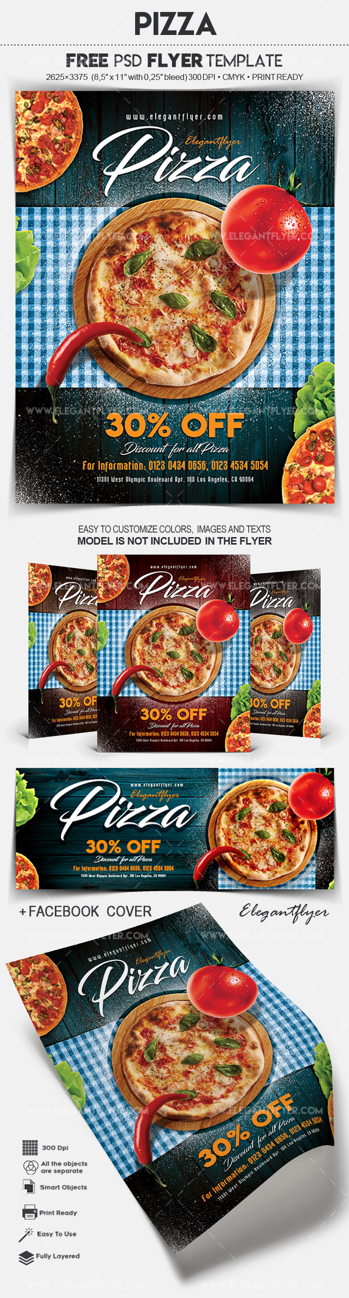 Pizza – Flyer PSD Template